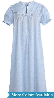 Womens Lanz Alpine Floral Nightgown