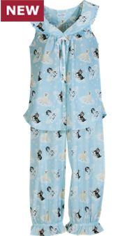 Lanz Puppies On Clouds Pajamas