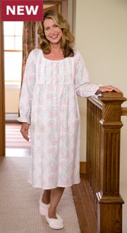 Lanz Maze Of Flowers Nightgown: