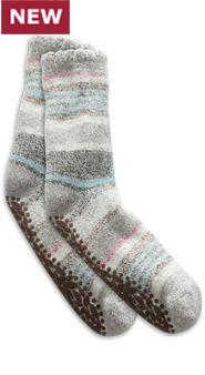 Women's Toasty Treads House Socks- Pkg. 2 Pairs