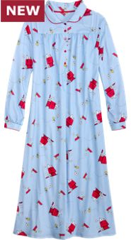 Women's Snoopy and Woodstock Gown