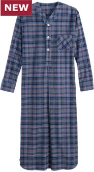 Orton Plaid Nightshirt