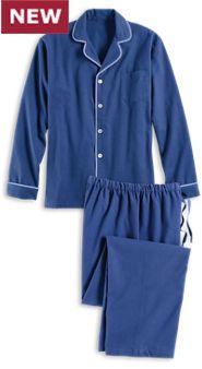 Men's Super-Soft Portuguese Flannel Pajamas