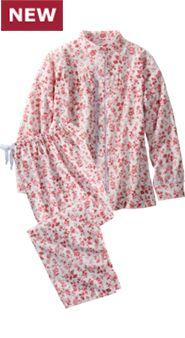 Women's Toile Portuguese Flannel Pajamas