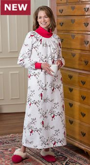 Women's Flannel Mock-Neck Popover