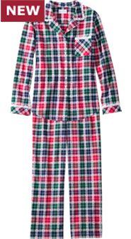 Women's Lanz Heart Dobby Flannel Pajamas