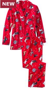 Women's It's a Cat's Life Flannel Pajamas