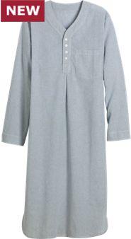 Men's Broadcloth Nightshirt