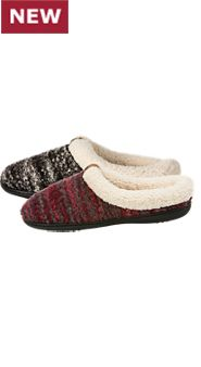 Womens Knit Clogs