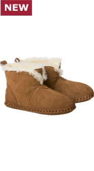 Womens Shearling Soft Bottom Booties