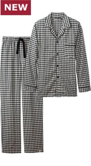 Mens Throwback Flannel Pajamas