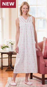 Womens Eileen West Morning Meadow Nightgown
