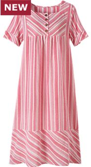 Womens Square Neck Cotton Nightgown