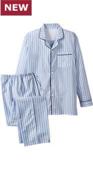 Mens Ultralight Cotton Voile Pajamas