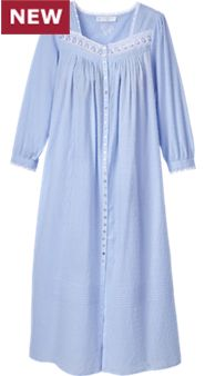 Womens Eileen West Swiss Dot Robe