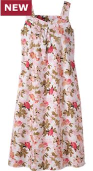 Womens Floral Nightgown