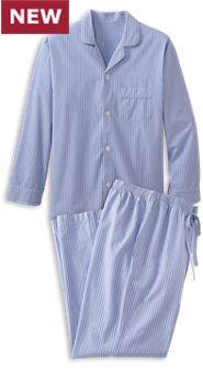 Mens Legendary Comfort Cotton Pajamas