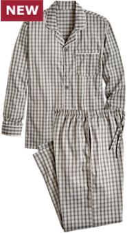No Sweat Flannel Pajama Set