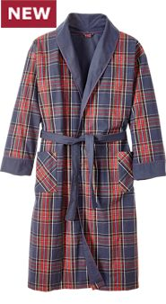 Double-Comfort Flannel Robe