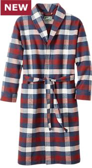 Flannel and Fleece Robe