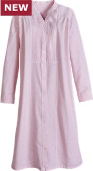 Womens Graceful Gathers Nightgown
