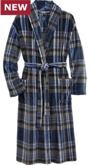 Super Soft Plush Fleece Robe