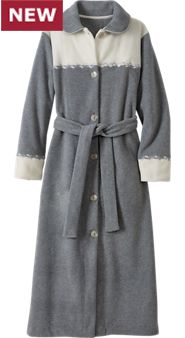 Winter Sky Fleece Robe