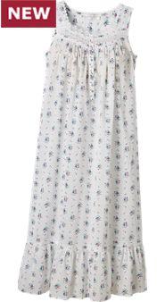 Womens Eileen West Victorian Bouquet Gown