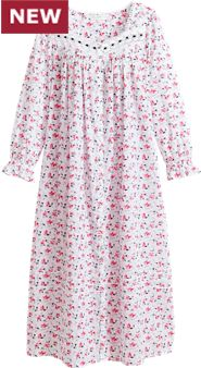 Eileen West Ruby Floral Robe