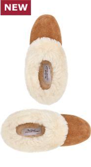 Womens Sheepskin Ballet Slippers