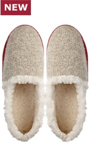 Womens Ragg Wool Slippers