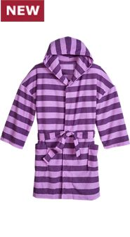 Girls Stripe It Up Terry Robe