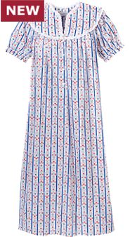 Lanz Lightweight Tyrolean Nightgown