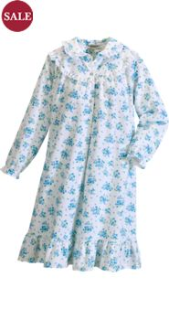 Cotton Flannel Nightgown