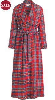 Women's Flannel Robe