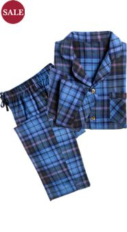 Orton Family Plaid Flannel Pajamas