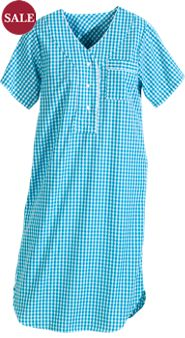 Gingham Check Nightshirt