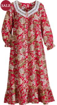 Country Garden Robe