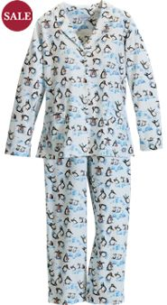 Lanz Playful Penguins PJs