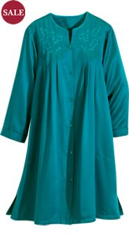Miss Elaine Brushed-Back Satin Robe
