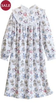 Girls' Lanz Teddy Bear Gown