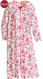 Silkened Serenade Pima Cotton Robe