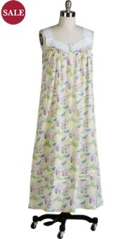 Lanz Bluebirds Nightgown