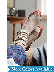 Ragg Wool Slipper Socks by Acorn: Down-to-Earth Comfort Proven in Space