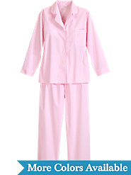 Classic Women's Pajamas in 100% Cotton Broadcloth Offer Unsurpassed Sleeping Comfort