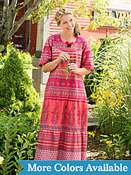 The Original 100% Cotton Ankle-Length Hawaiian Muumuu