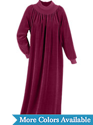 Long Velour nightgown