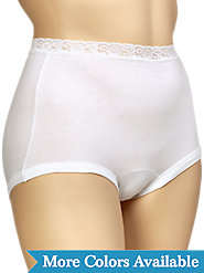 Our Lace-Waist Comfort-Leg Briefs