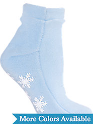 Vermont-Made Fleece Slumber Socks Keep Toes Toasty