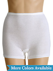 Combed-Cotton Panties in a Trunk Style for Nonbinding Comfort